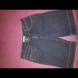 Jean shorts women's